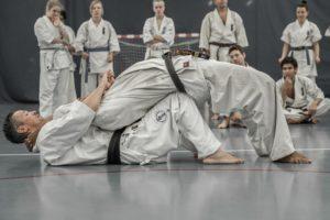 Streching av hofte/rygg